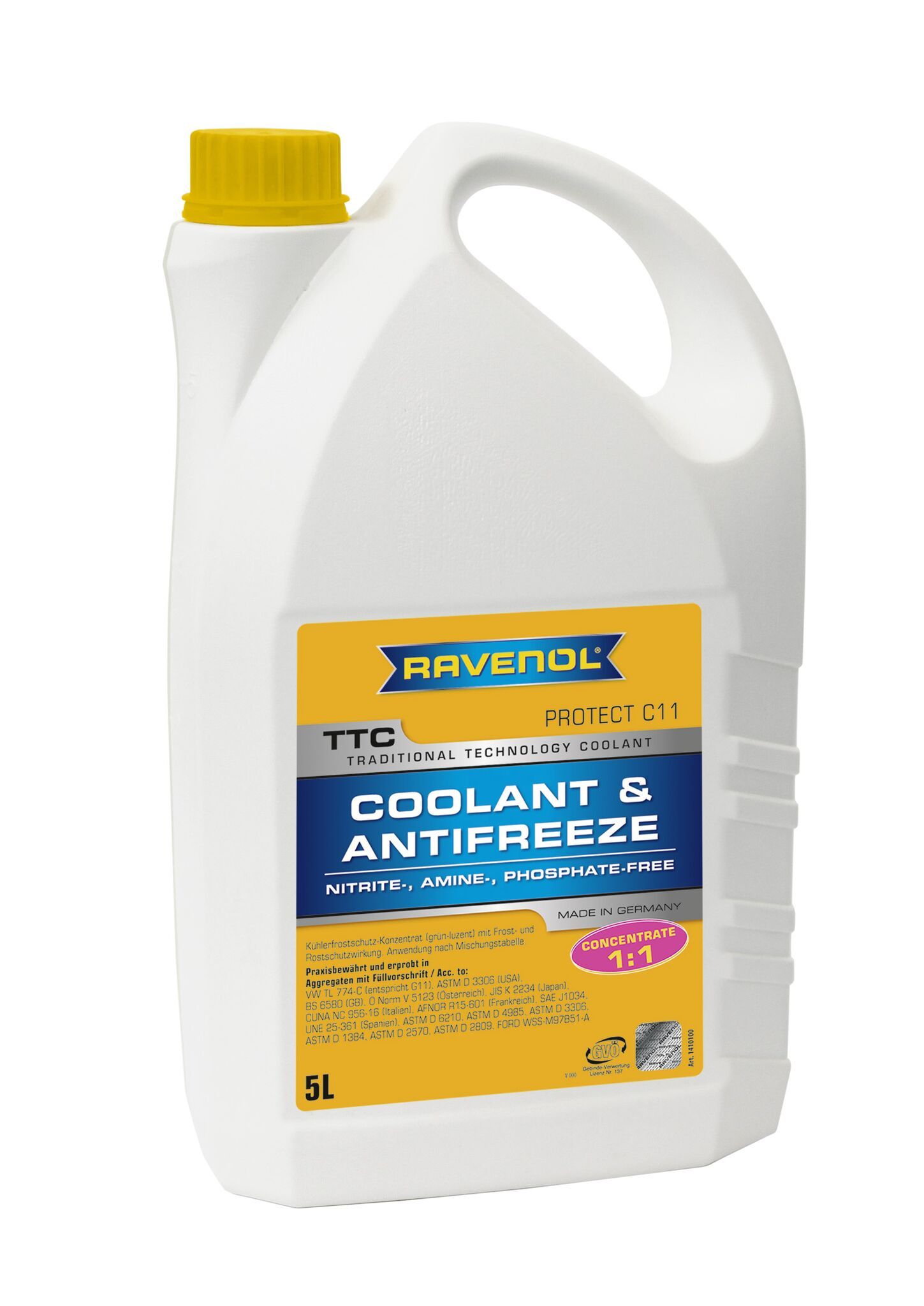 RAVENOL TTC - Protect C11 Concentrate 5L