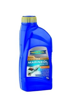 RAVENOL MARINEOIL PETROL 25W-40 synthetic 1 L